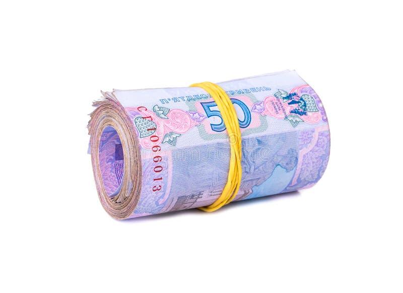 Ουκρανικά χρήματα δεσμών στοκ εικόνες