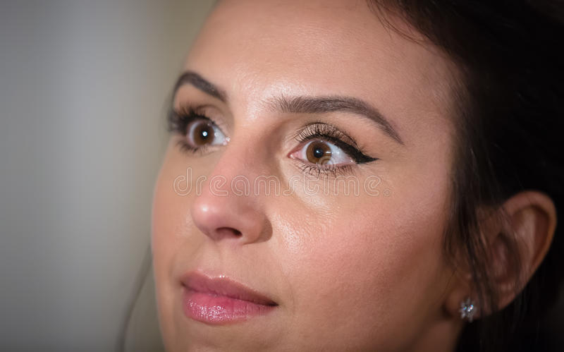 Ουκρανικοί τραγουδιστής, ηθοποιός και τραγουδοποιός Jamala στοκ φωτογραφία