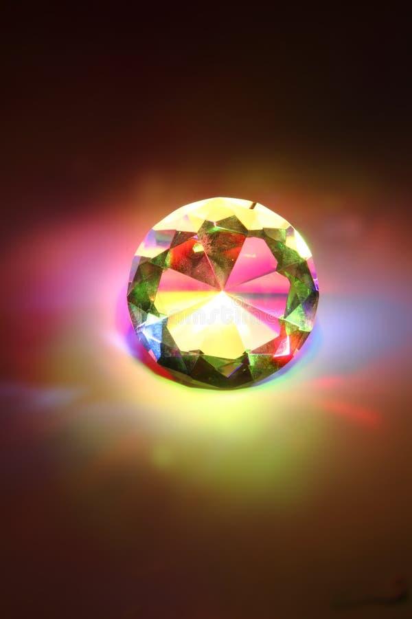 ουράνιο τόξο διαμαντιών στοκ φωτογραφία