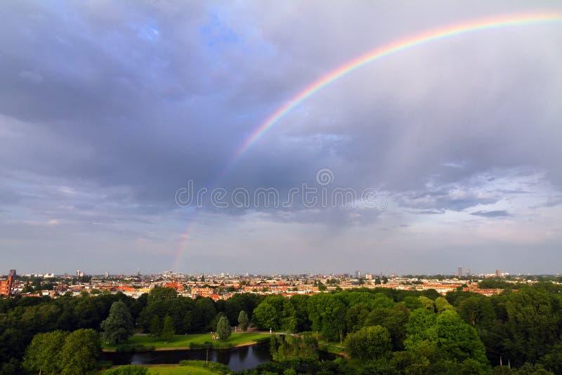 ουράνιο τόξο του Άμστερνταμ στοκ εικόνα με δικαίωμα ελεύθερης χρήσης