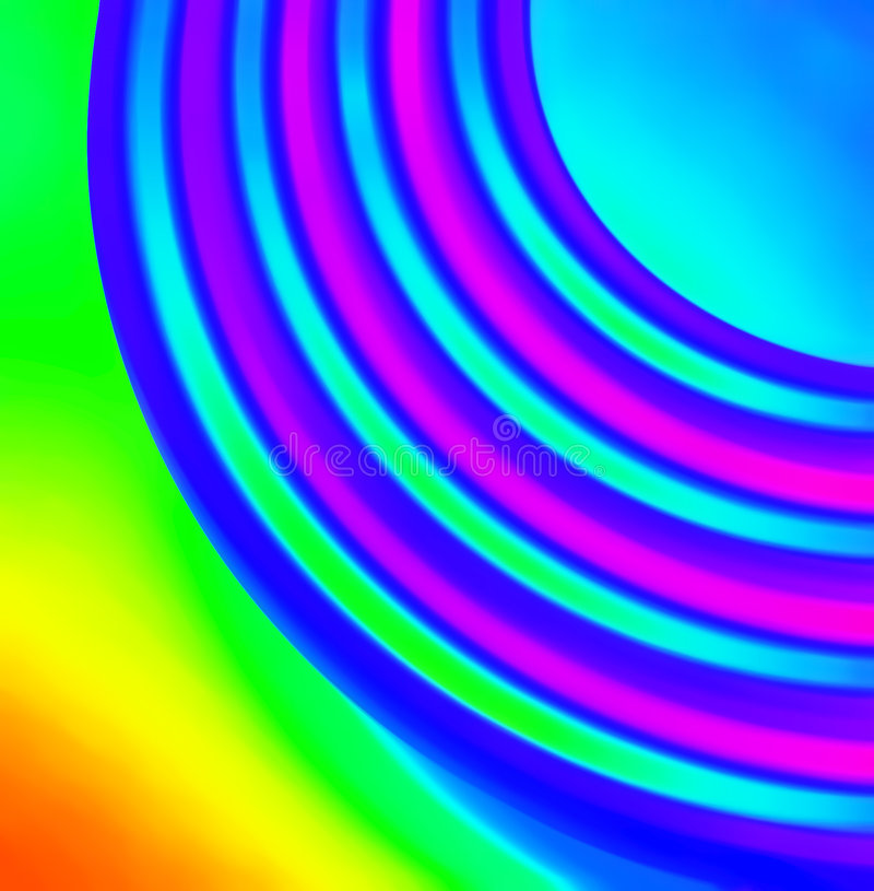 ουράνιο τόξο χρώματος Στοκ Φωτογραφία