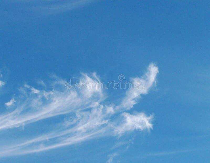 Ουρανοί και σύννεφα στοκ εικόνα