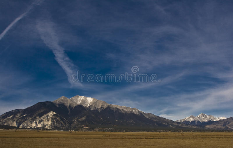 ουρανοί του Κολοράντο στοκ εικόνα