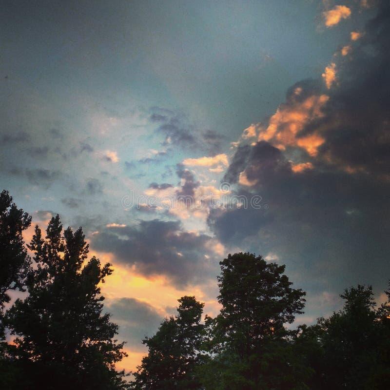 ουρανοί στοκ φωτογραφίες