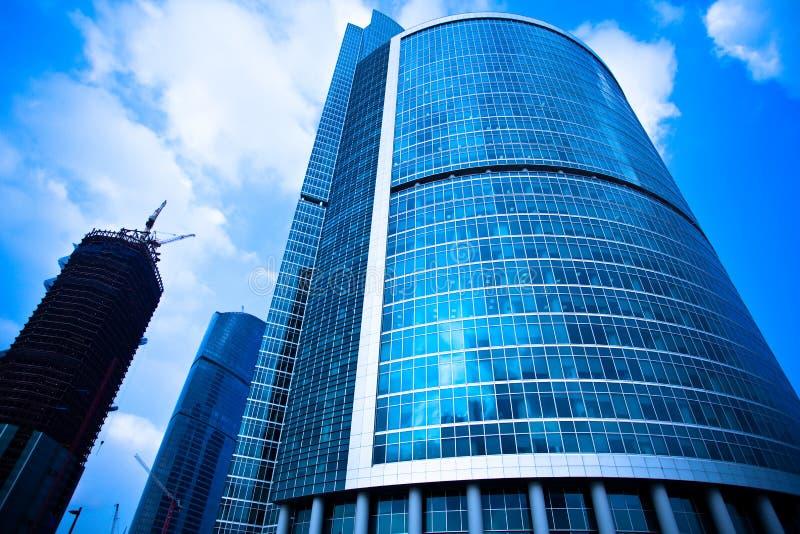 ουρανοξύστες κατασκε&up στοκ εικόνα