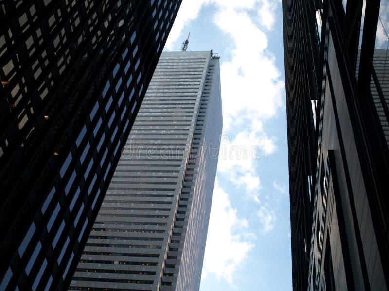 ουρανοξύστες πόλεων στοκ φωτογραφία