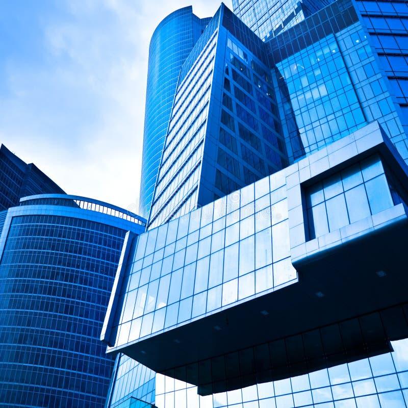 ουρανοξύστες συγκομι&de στοκ εικόνα με δικαίωμα ελεύθερης χρήσης
