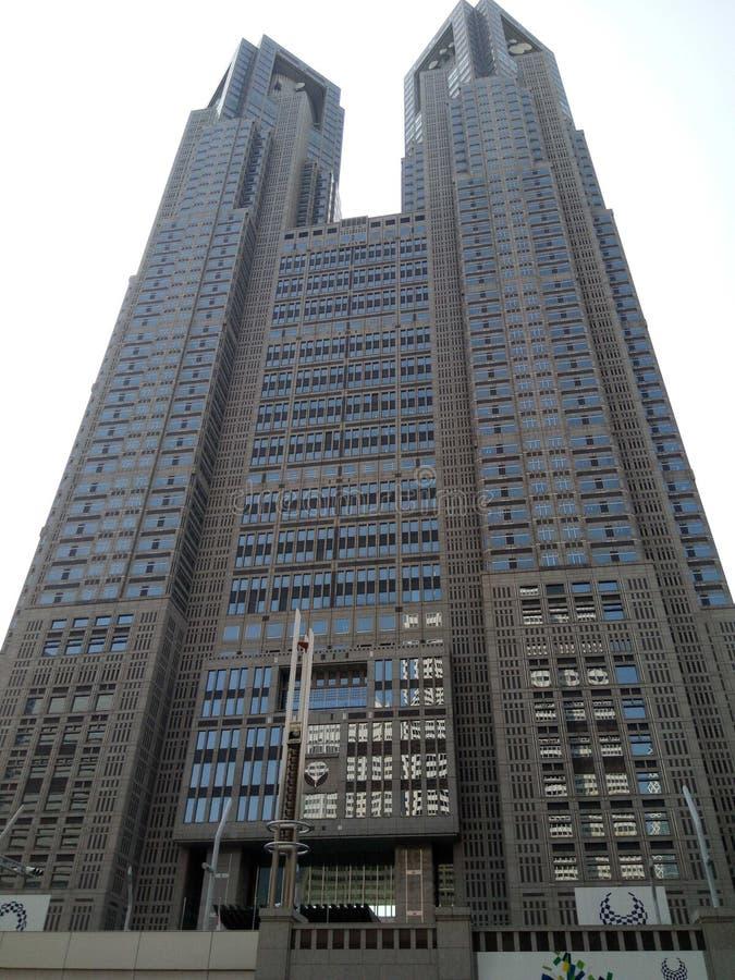 Ουρανοξύστες του Τόκιο στοκ εικόνα με δικαίωμα ελεύθερης χρήσης