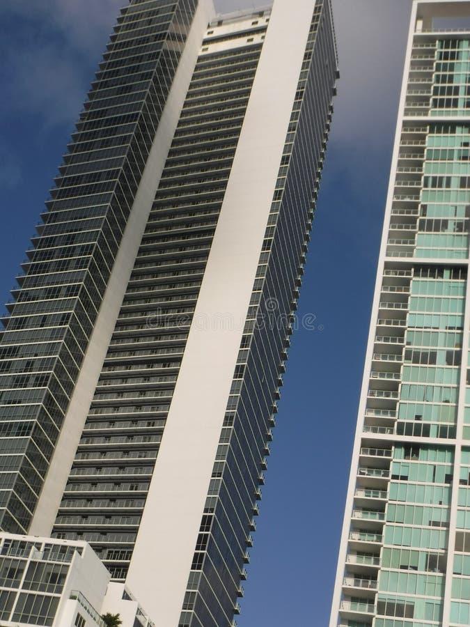 Ουρανοξύστες dowtown Μαϊάμι στοκ εικόνες