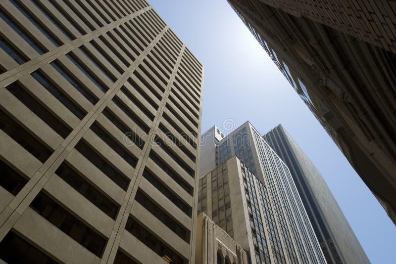 ουρανοξύστες Francisco SAN στοκ εικόνα με δικαίωμα ελεύθερης χρήσης