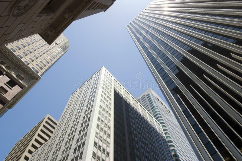 ουρανοξύστες Francisco SAN στοκ φωτογραφία με δικαίωμα ελεύθερης χρήσης