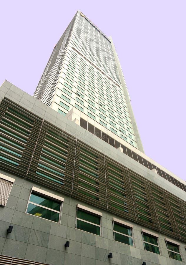ουρανοξύστης Βαρσοβία τ&e στοκ φωτογραφία με δικαίωμα ελεύθερης χρήσης