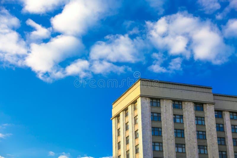 Ουρανοξύστης, Μόσχα, Ρωσία στοκ εικόνες