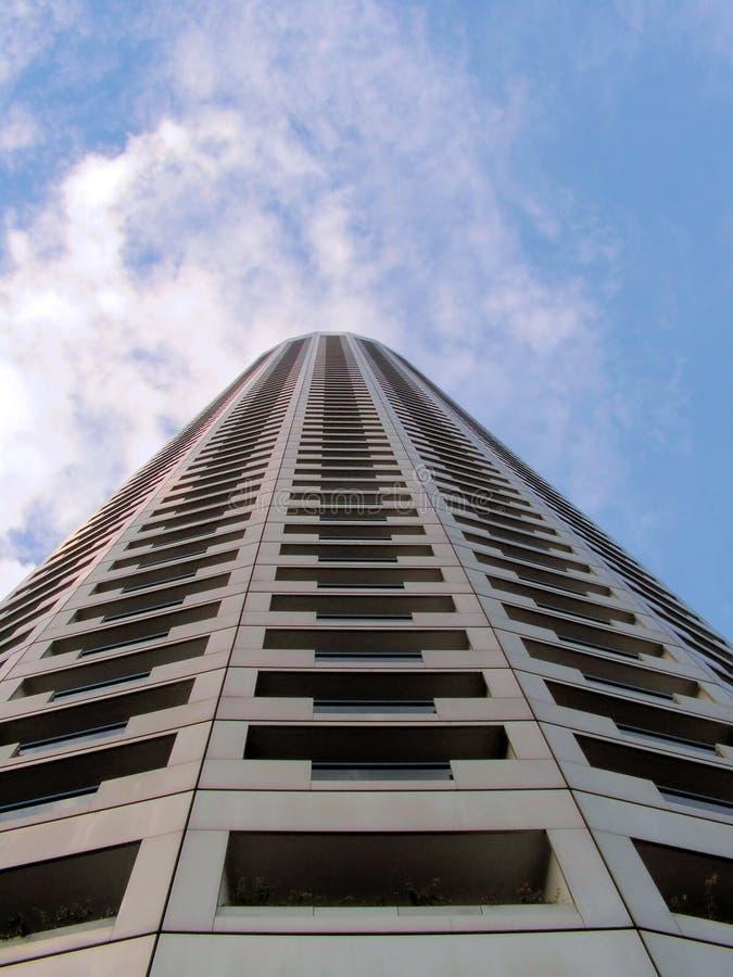ουρανοξύστης ξενοδοχείων ψηλός στοκ εικόνα