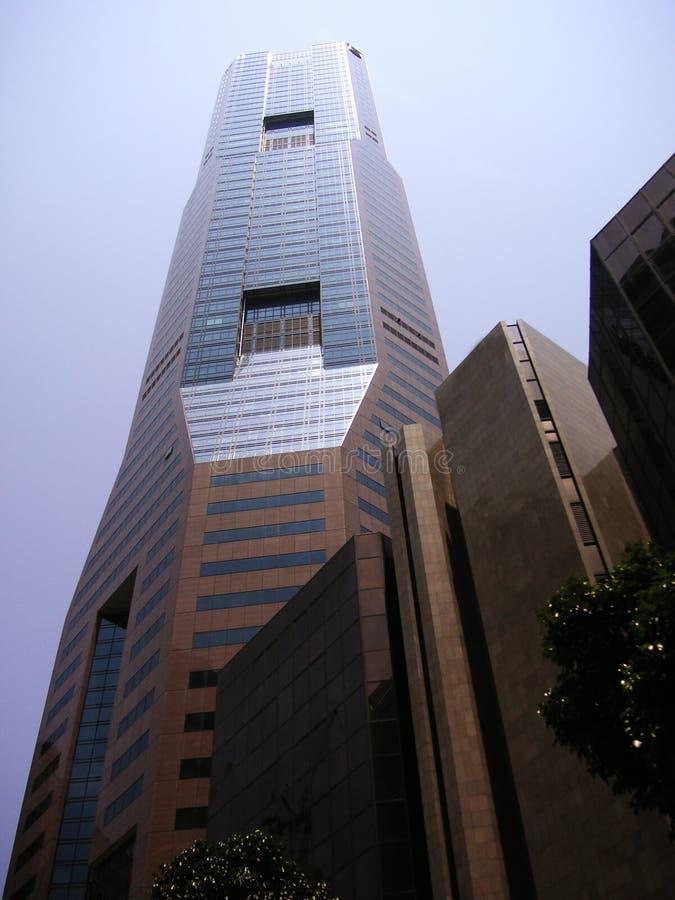 ουρανοξύστης Σινγκαπού&rho στοκ εικόνες