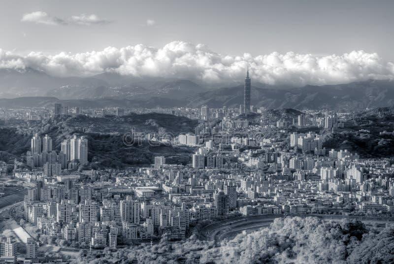 ουρανοξύστης Ταιπέι σκηνώ&n στοκ εικόνα με δικαίωμα ελεύθερης χρήσης