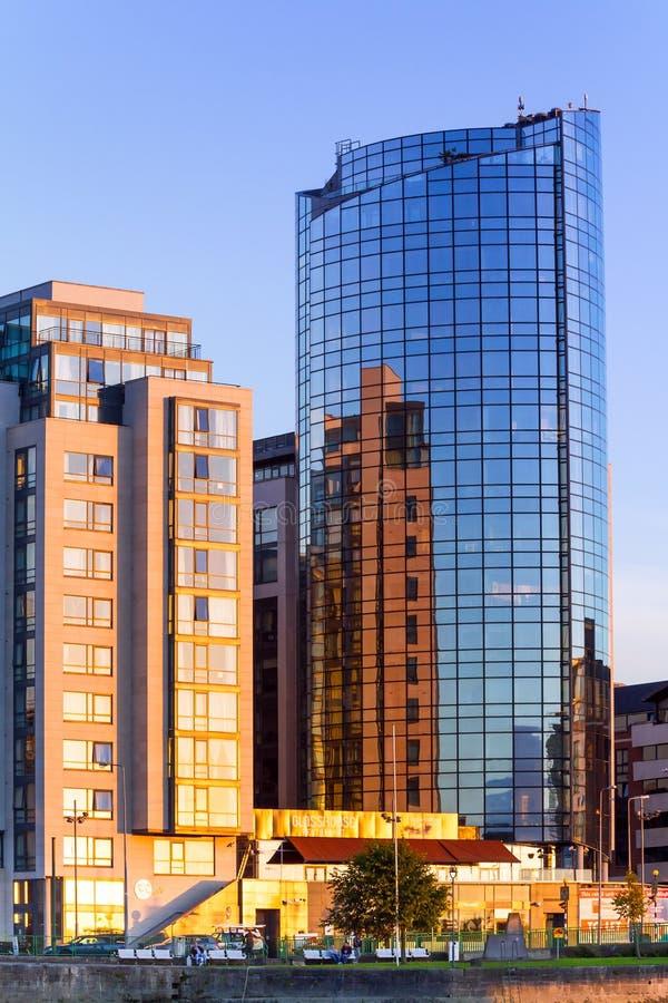 Ουρανοξύστης Riverpoint στο πεντάστιχο στοκ εικόνες