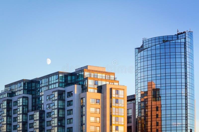Ουρανοξύστης Riverpoint στο πεντάστιχο στοκ φωτογραφία