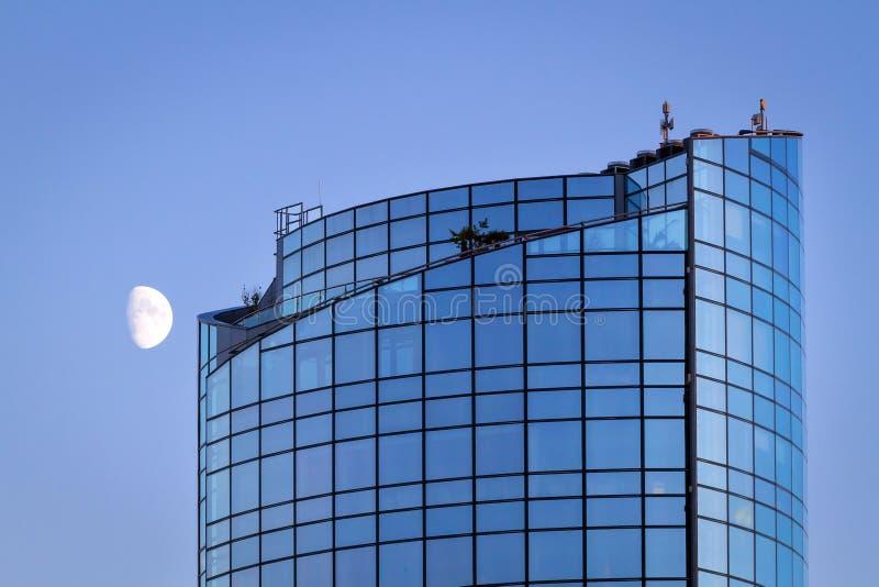 Ουρανοξύστης Riverpoint στο πεντάστιχο στοκ εικόνα