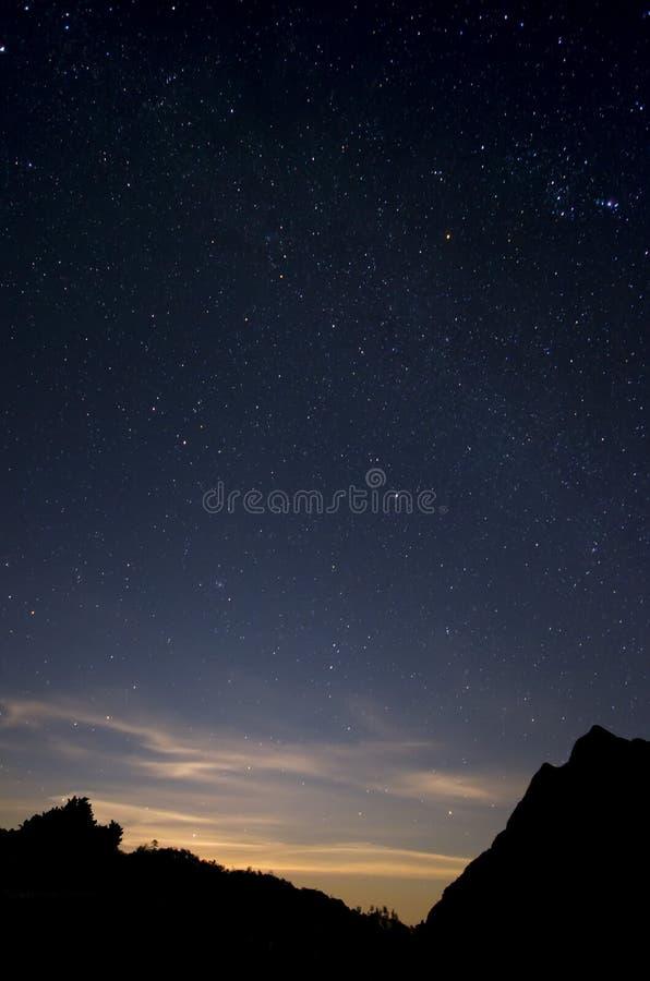 ουρανός έναστρος στοκ φωτογραφίες με δικαίωμα ελεύθερης χρήσης