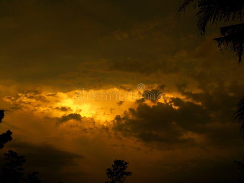 Ουρανός απογεύματος στοκ εικόνες