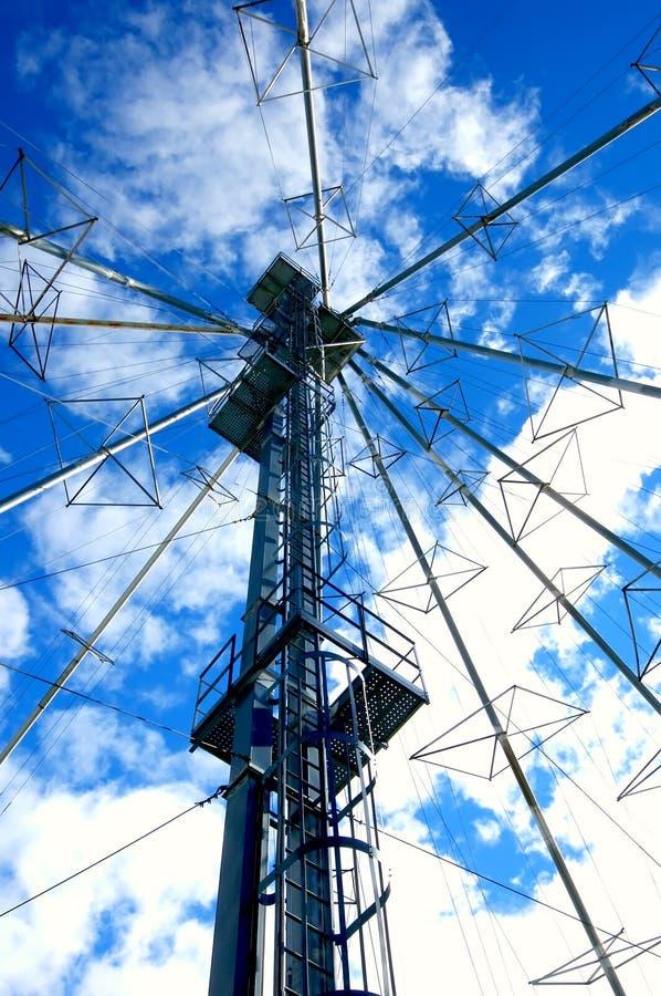 ουρανός επικοινωνιών στοκ εικόνα με δικαίωμα ελεύθερης χρήσης