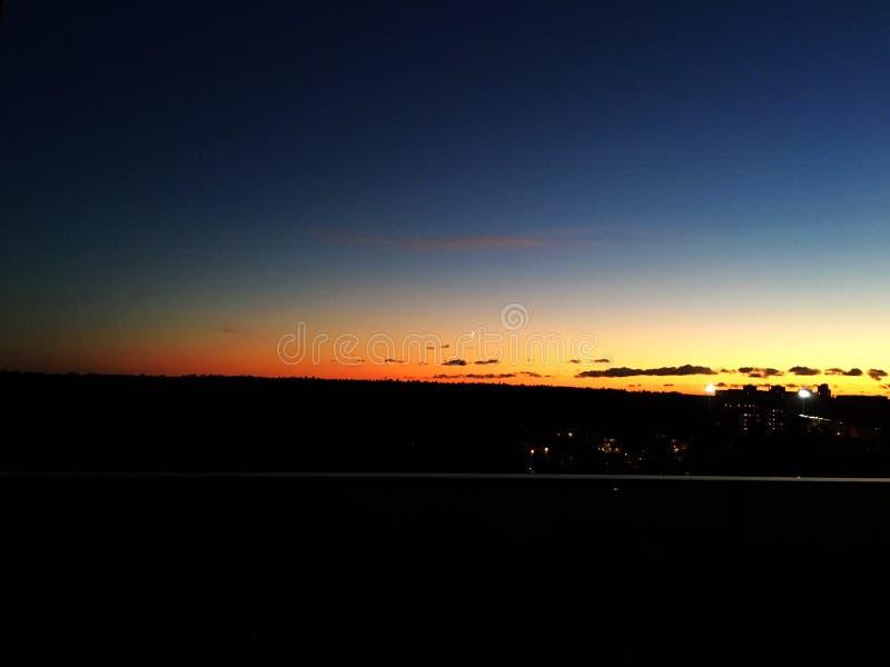 Ουρανός ηλιοβασιλέματος στοκ εικόνες