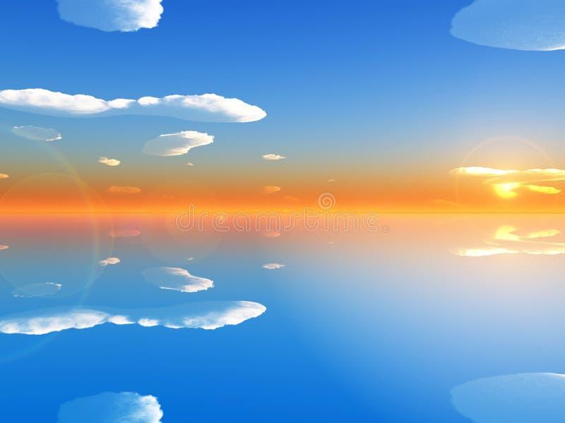 Download ουρανός θάλασσας απεικόνιση αποθεμάτων. εικονογραφία από οικολογία - 2232254