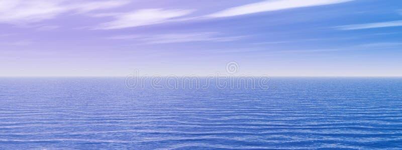 ουρανός θάλασσας διανυσματική απεικόνιση