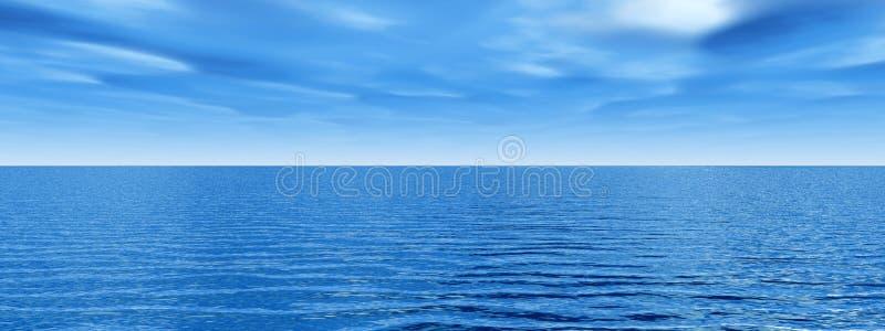 ουρανός θάλασσας απεικόνιση αποθεμάτων