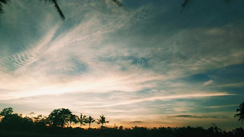 ουρανός θερμός στοκ εικόνα