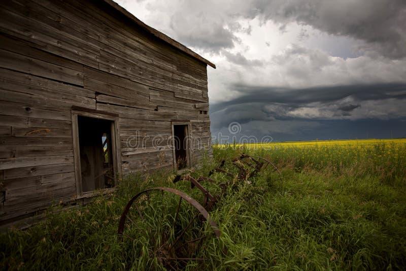 Ουρανός λιβαδιών σύννεφων θύελλας στοκ φωτογραφία