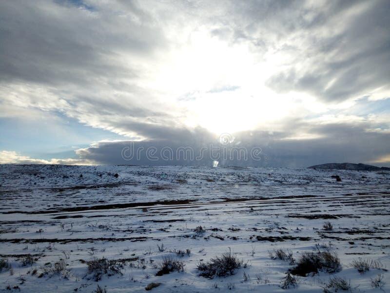 Ουρανός και έδαφος στοκ φωτογραφίες με δικαίωμα ελεύθερης χρήσης