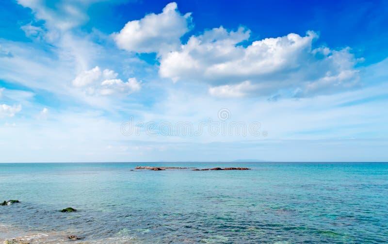 Ουρανός και θάλασσα στοκ εικόνα με δικαίωμα ελεύθερης χρήσης