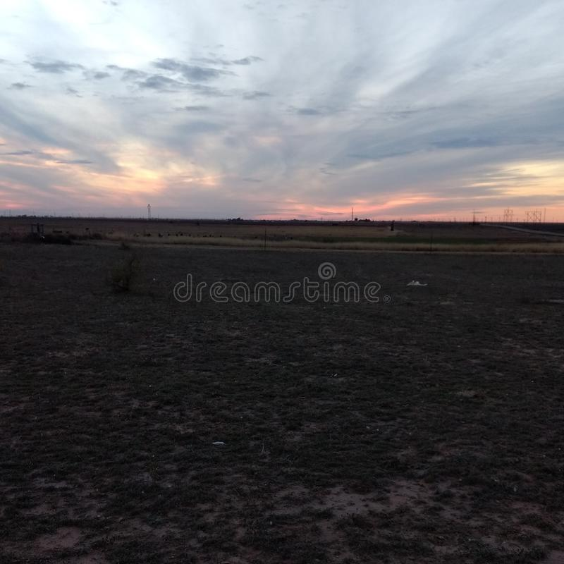 Ουρανός καραμελών βαμβακιού στοκ φωτογραφίες με δικαίωμα ελεύθερης χρήσης