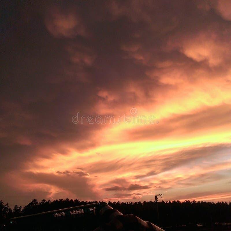 Ουρανός μάγκο στοκ φωτογραφία