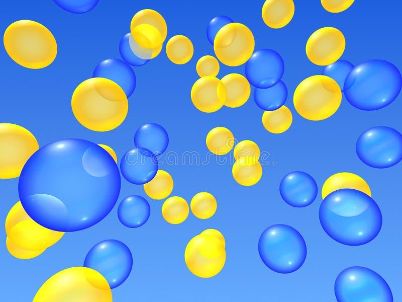 Download ουρανός μπαλονιών απεικόνιση αποθεμάτων. εικονογραφία από διασκεδάσεις - 379199