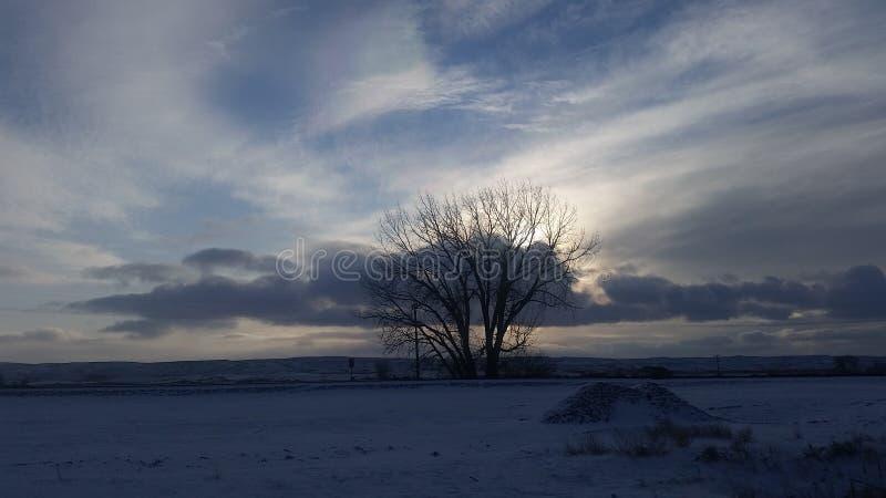 Ουρανός Νοεμβρίου στοκ φωτογραφία