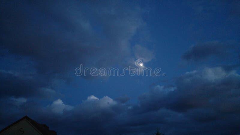 Ουρανός παραμυθιού στοκ εικόνες με δικαίωμα ελεύθερης χρήσης