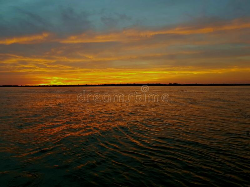 Ουρανός στα χρώματα στοκ φωτογραφίες με δικαίωμα ελεύθερης χρήσης