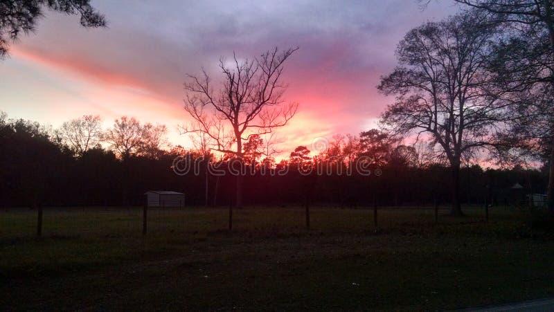 Ουρανός στην πυρκαγιά στοκ εικόνα με δικαίωμα ελεύθερης χρήσης