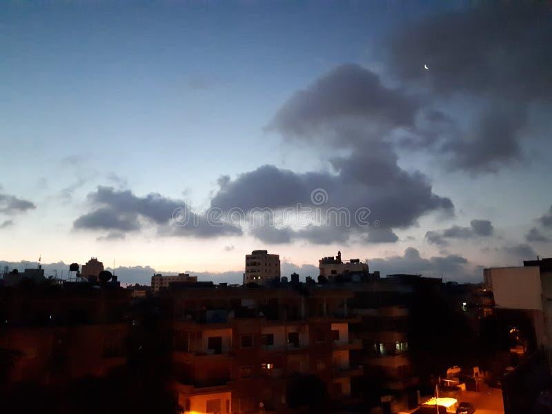 Ουρανός τη νύχτα στοκ εικόνες
