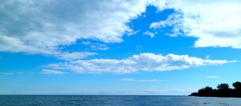 Ουρανός του Τορόντου στοκ φωτογραφίες με δικαίωμα ελεύθερης χρήσης