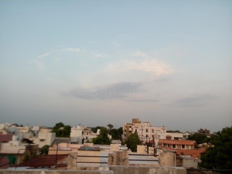 Ουρανός του indore στοκ φωτογραφία