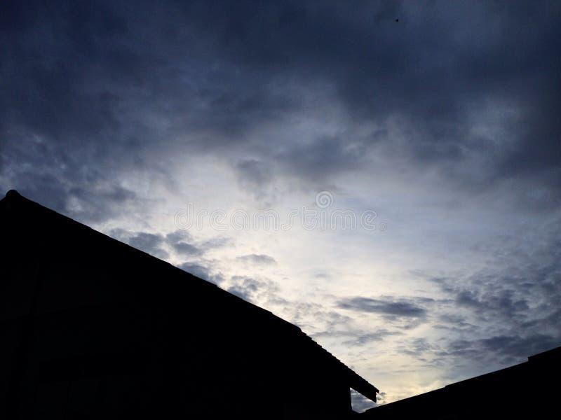 Ουρανός το σπίτι μου στοκ φωτογραφίες