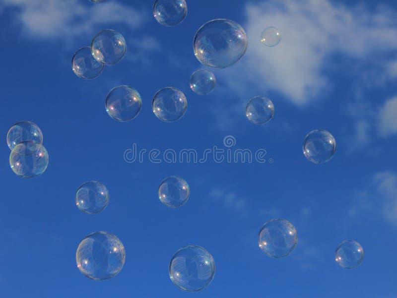 ουρανός φυσαλίδων στοκ φωτογραφία με δικαίωμα ελεύθερης χρήσης