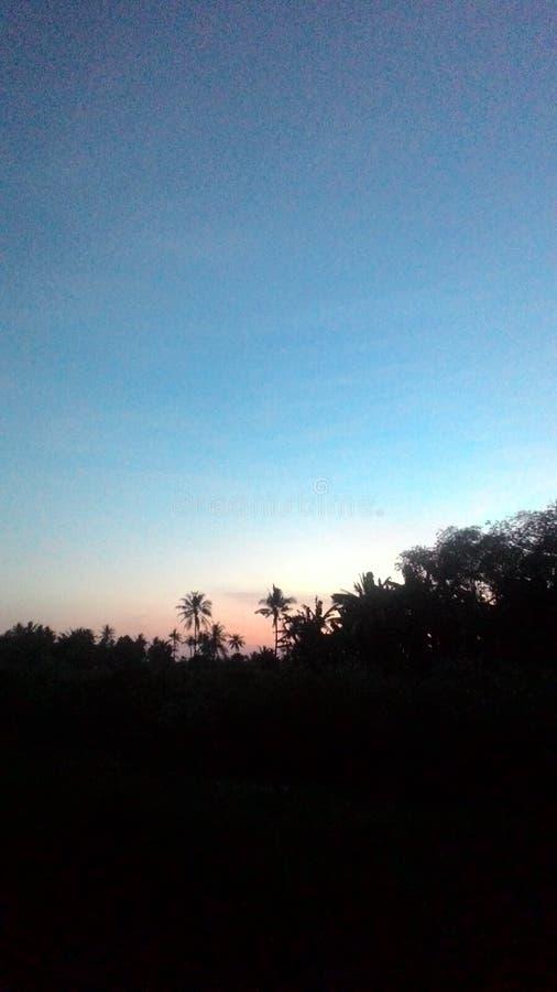 Ουρανός de Ιάβα στοκ εικόνες