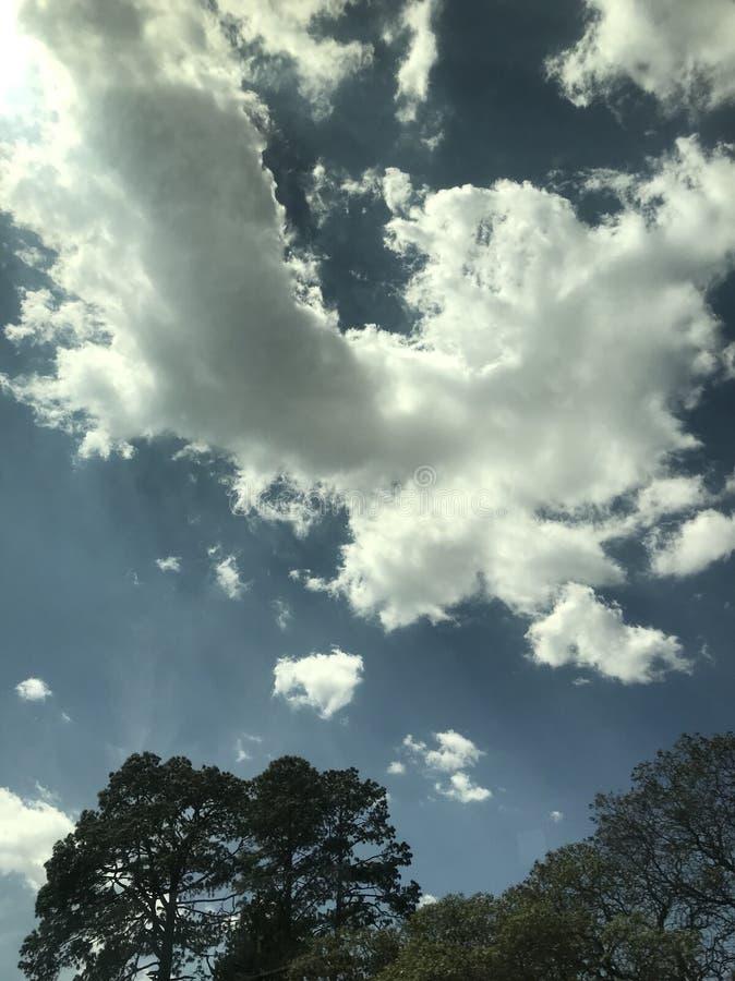 Ουρανός Zacatlà ¡ ν στοκ φωτογραφία με δικαίωμα ελεύθερης χρήσης