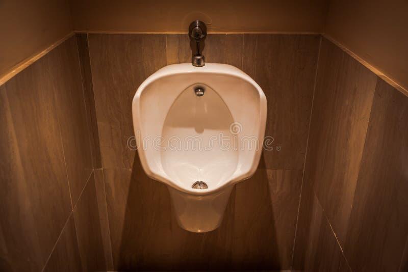 Ουροδοχείο σε ένα WC στοκ εικόνες