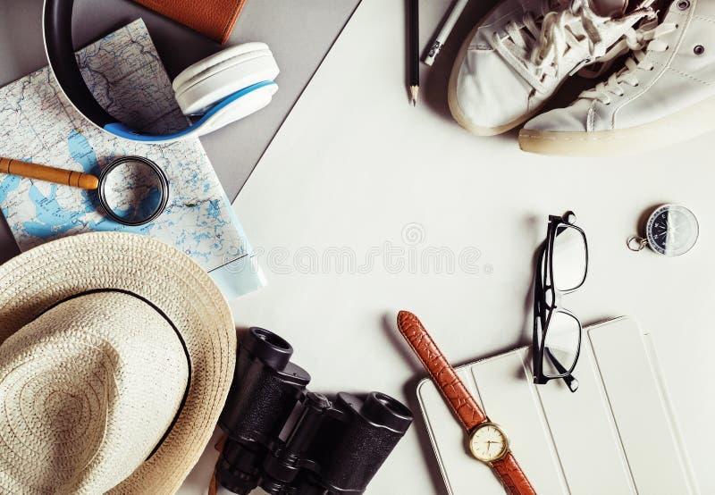 Ουσιαστικά ταξιδιωτικά στοιχεία στοκ φωτογραφίες με δικαίωμα ελεύθερης χρήσης